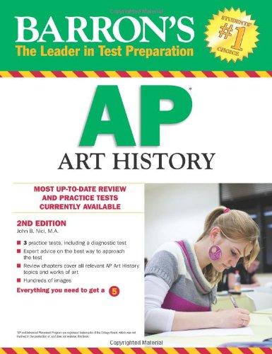 9780764146916: Barron's AP Art History, 2nd Edition