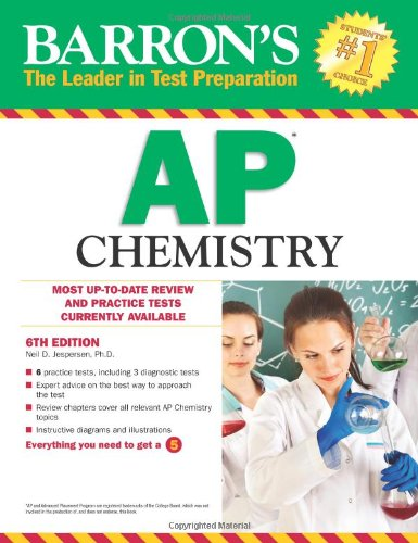 9780764146947: Barron's AP Chemistry, 6th Edition