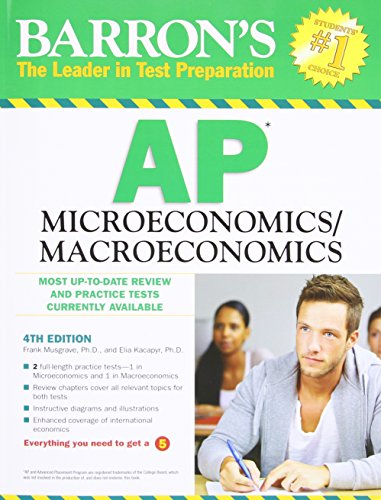 9780764147005: Barron's AP Microeconomics/Macroeconomics, 4th Edition