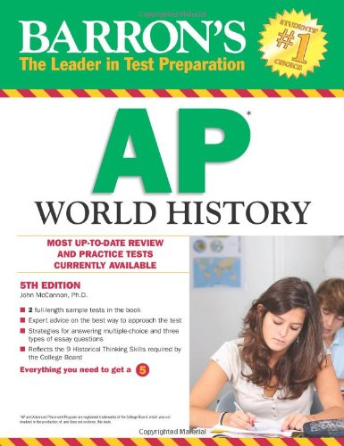 9780764147067: Barron's AP World History