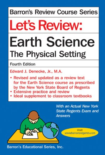 9780764147180: Let's Review Earth Science: The Physical Setting (Let's Review Series)