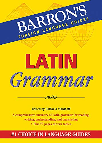 9780764147210: Latin Grammar (Barron's Foreign Language Guides)