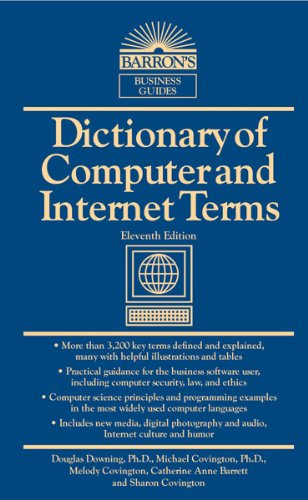9780764147555: Dictionary of Computer and Internet Terms