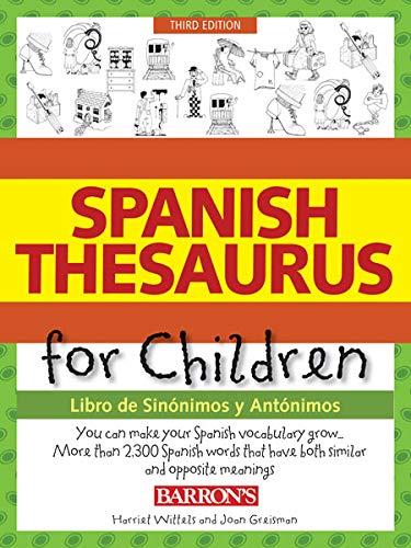 9780764147661: Spanish Thesaurus for Children