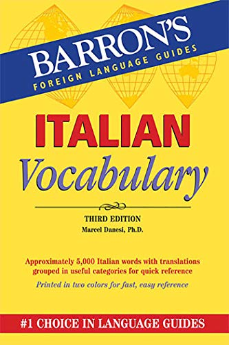 9780764147692: Italian Vocabulary (Barron's Vocabulary Series)