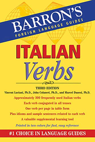 9780764147753: Italian Verbs (Barrons Foreign Language Guide)