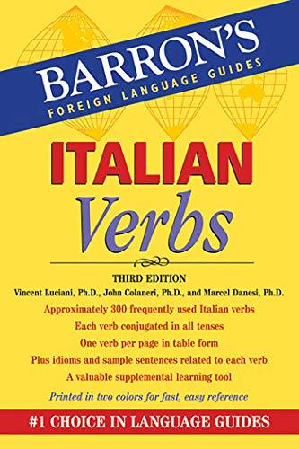 9780764147753: Italian Verbs (Barron's Verb Series)