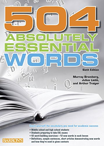 9780764147814: 504 Absolutely Essential Words, 6th Edition