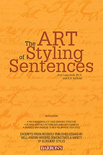 9780764147838: The Art of Styling Sentences