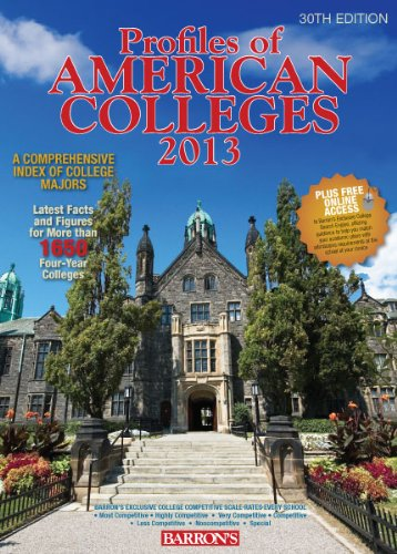 9780764147845: Profiles of American Colleges: with Website Access (Barron's Profiles of American Colleges)
