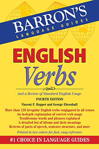 9780764147852: English Verbs (Barron's Verb Series)