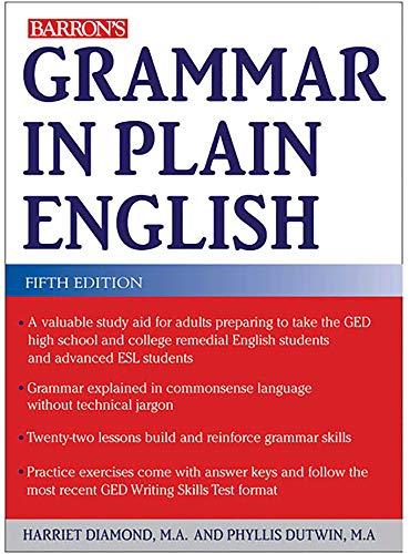 9780764147869: Grammar in Plain English