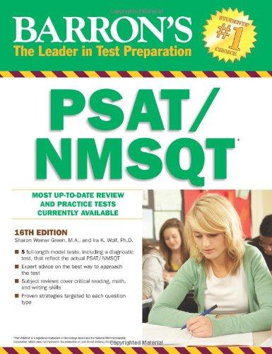9780764147951: Barron's PSAT/ NMSQT (Barron's test prep)
