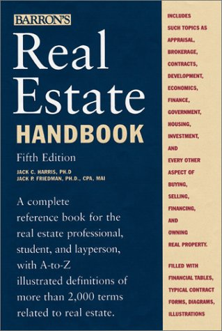9780764152634: Real Estate Handbook (Barron's Real Estate Handbook)