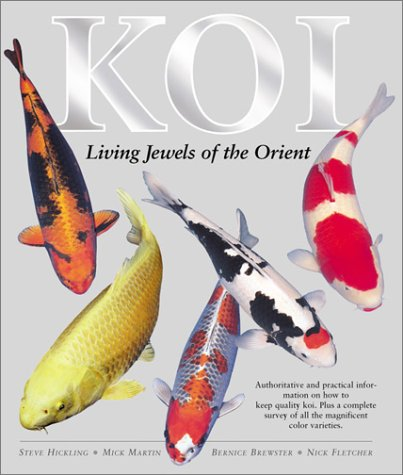 9780764154485: Koi: Living Jewels of the Orient