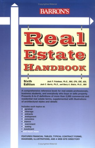 9780764157776: Real Estate Handbook (Barron's Real Estate Handbook)