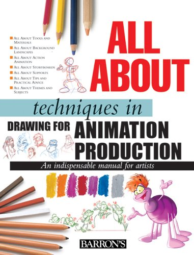 9780764159190: All about Techniques in Drawing for Animation Production: (All About Techniques Series)