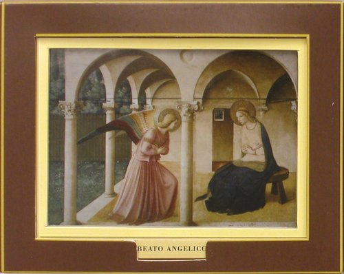 9780764159329: Fra Angelico―The Annunciation (Miniature Art Books Gallery)