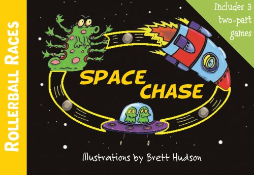9780764160172: Space Chase [With Built in Rollerball Race Games] (Rollerball Races)