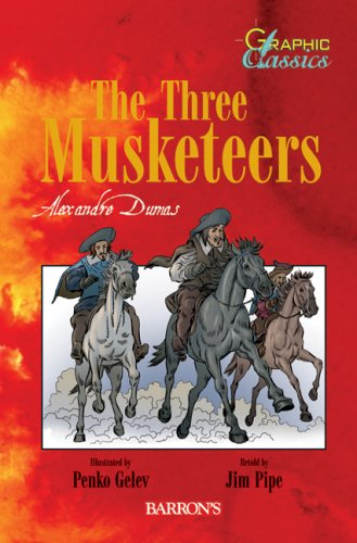 9780764160561: The Three Musketeers (Graphic Classics)