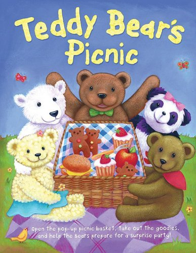 9780764160691: Teddy Bear's Picnic: Pop-Up Picnic Basket with Working Fork, Knife, and Spoon, and a Sweet, Interactive Story