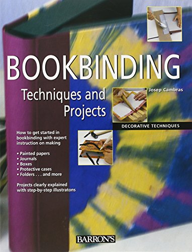 9780764160844: Bookbinding Techniques and Projects