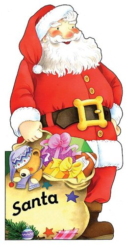 9780764161063: Santa (Little People Shape Books)
