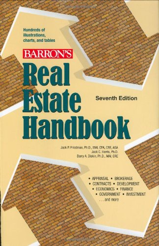 9780764161100: Real Estate Handbook (Barron's Real Estate Handbook)