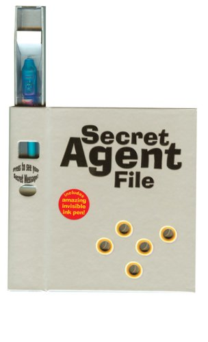 9780764161193: Secret Agent File: Including amazing invisible ink pen!