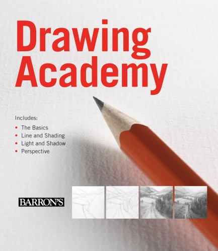 9780764161834: Drawing Academy: The Basics of Drawing/ Line and Shading/ Light and Shadow/ Perspective