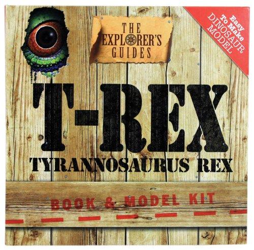 9780764163098: T-Rex: Book & Model Kit (The Explorer's Guides)