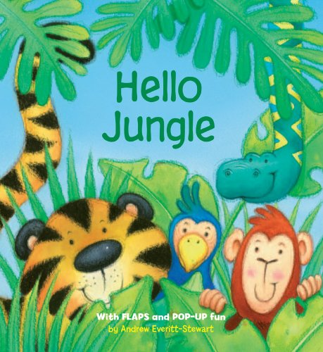 9780764163357: Hello Jungle: With Flaps and POP-UP Fun (Animal Flappers Books)