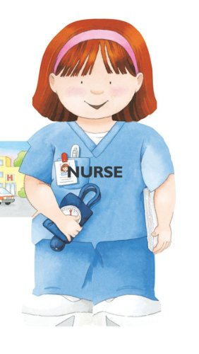 9780764164408: Nurse (Mini People Shape Books)