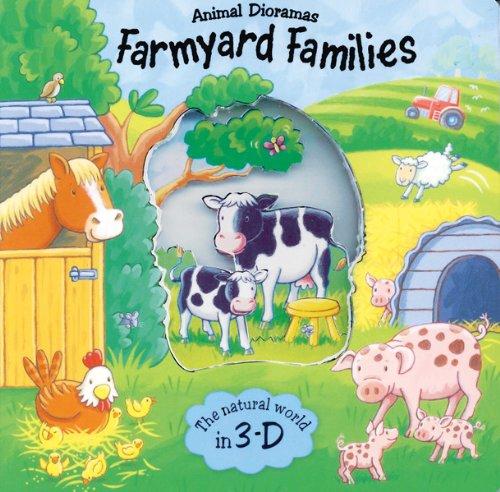 9780764164637: Farmyard Families (Animal Dioramas)