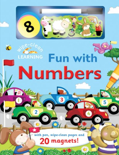 9780764165511: Wipe-Clean: Fun with Numbers: With Pen, Wipe-Clean Pages, and 20 Magnets! (Wipe-Clean Learning Books)