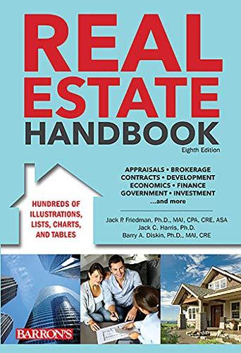 Real Estate Handbook (Barron's Real Estate Handbook): Friedman Ph.D. MAI CPA CRE, Jack P., ...