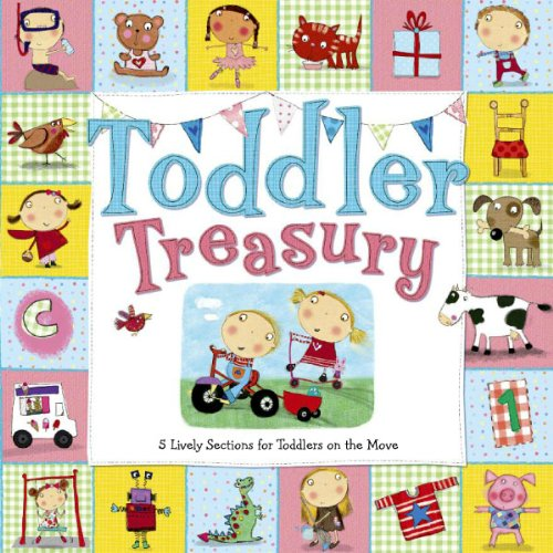 9780764165627: Toddler Treasury: 5 Lively Sections for Toddlers on the Move (Toddler Books)