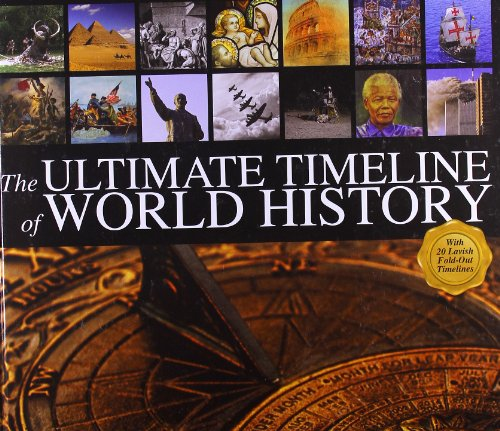 9780764165658: The Ultimate Timeline of World History: With 20 Lavish Fold-Out Timelines