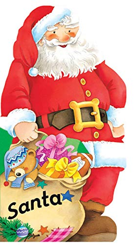 9780764165788: Santa (Mini People Shape Books)