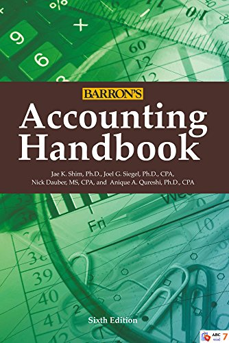 9780764166570: Accounting Handbook (Barron's Accounting Handbook)