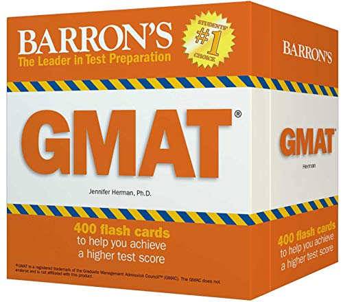 9780764166655: Barron's GMAT Flash Cards
