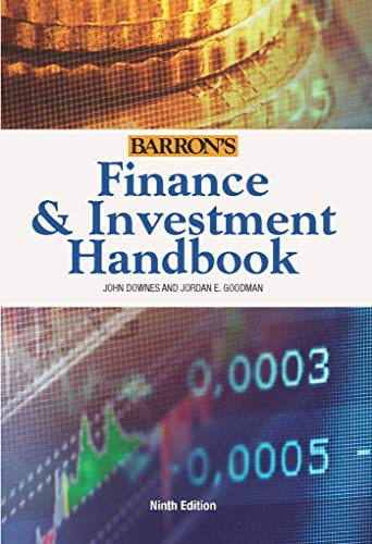 9780764167515: Finance & Investment Handbook (Barron's Finance and Investment Handbook)