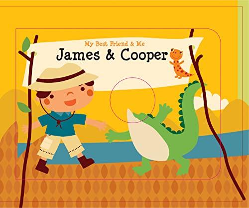 9780764168307: James & Cooper Finger Puppet Book (My Best Friend & Me)