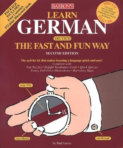 9780764170249: Learn German the Fast and Fun Way with Cassettes (Barron's Fast and Fun Way Language Series)