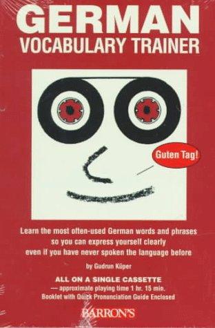 9780764171222: German Vocabulary Trainer (Barron's Vocabulary Trainer Series) (German Edition)