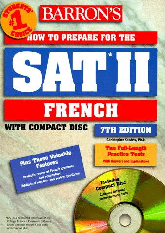 9780764171413: Barron's How to Prepare for Sat II French (BARRON'S HOW TO PREPARE FOR THE SAT II FRENCH)
