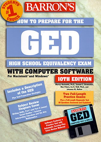9780764172052: Barron's How to Prepare for the Ged: High School Equivalency Exam (Barron's How to Prepare for the GED (W/CD))