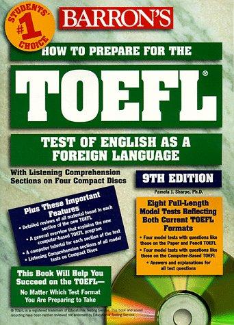 9780764172656: HOW TO PREPARE FOR THE TOEFL. 9ème édition avec 4 CD