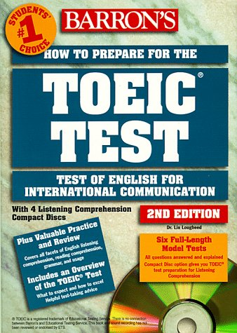 9780764172663: Barron's How to Prepare for the Toeic: Test of English for International Communication with CD (Audio)