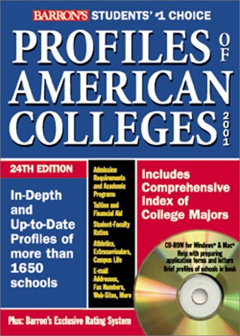 Profiles of American Colleges with CDROM (Barron's Profiles of American Colleges) (0764172948) by Barrons Educational Series